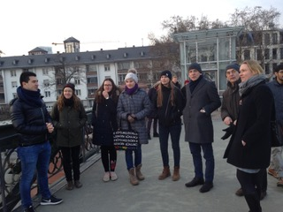 Projekttag: Inschriftenführung in der Frankfurter Innenstadt