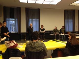Projekttag: Vortrag lateinischer Verse beim Gastmahl