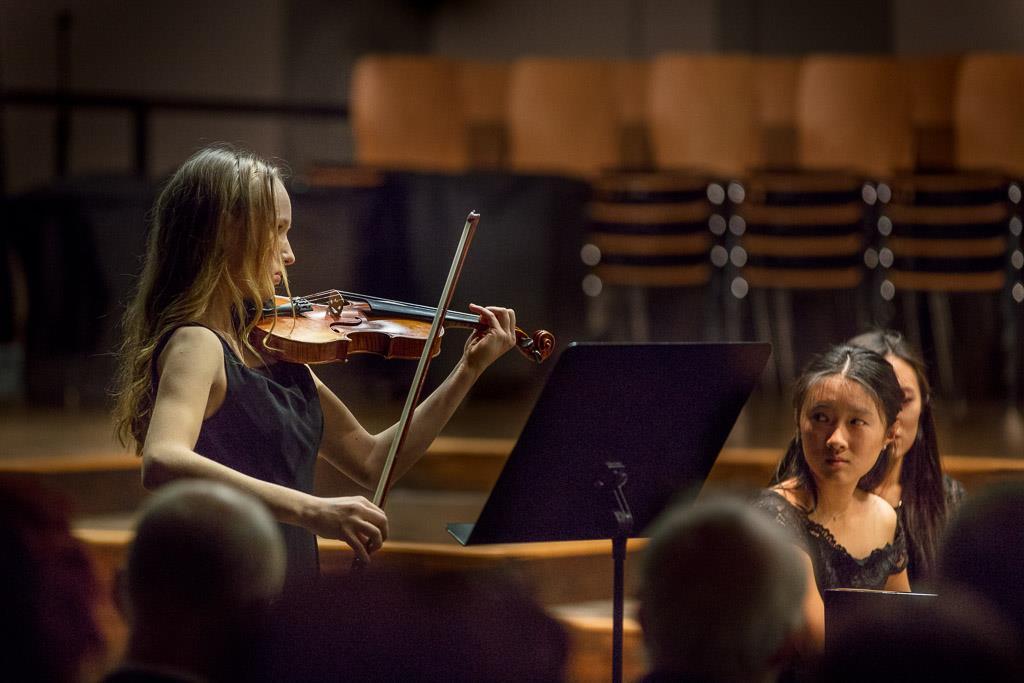 Antonin Dvorak – Sonatine (Victoria Fuchs, UIII, Violine und Dai-Chi Yu, UIII, Klavier)