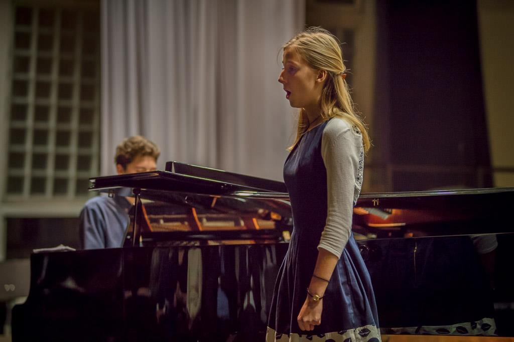 Georg Friedrich Händel - Acis und Galatea (Anna Luisa Welsch, OI, Sopran und Jonas Fischer, Klavier)