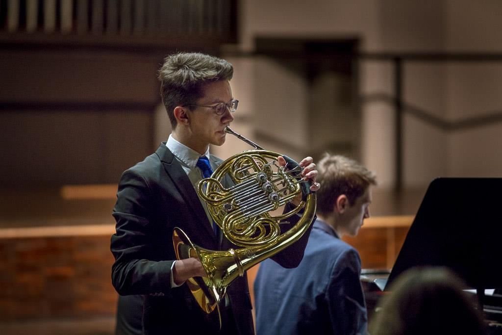 Michael Haydn – Hornkonzert (Sebastian Lampert, UI, Horn und Sebastian Ickstadt, UI, Klavier)