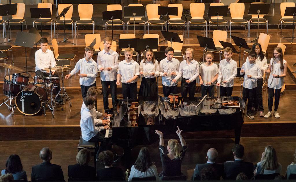 Kammermusik-Combo der Klassen 5-7
