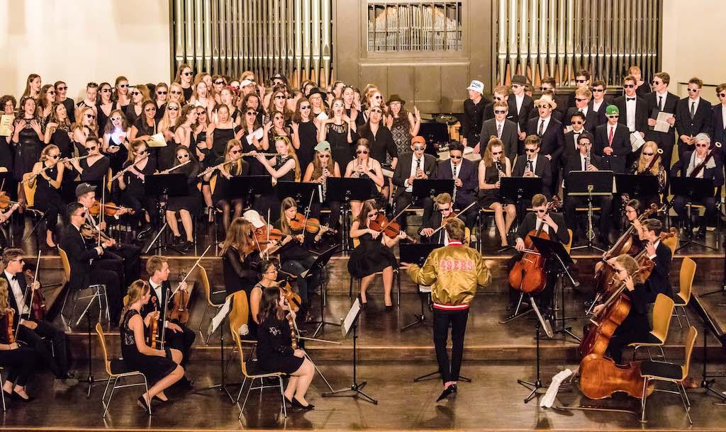 Orchesterscherz