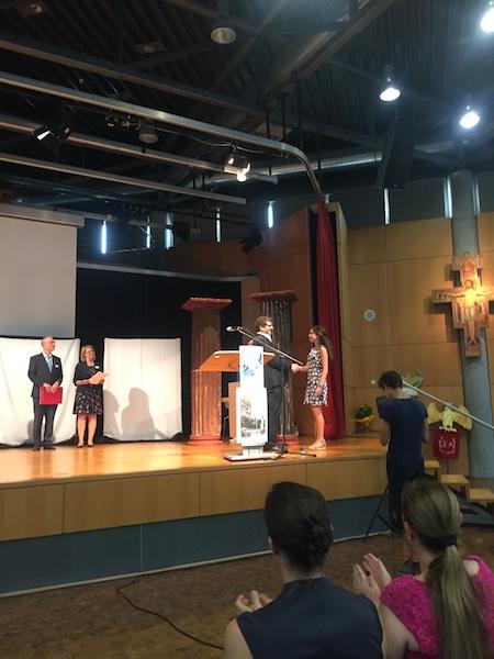 Bundeswettbewerb Latein - 1. Platz für Ana Worm Hortelano