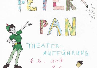 Juni 2018 - Peter Pan (Regie Corinna Richter und Mareike Kuntz)