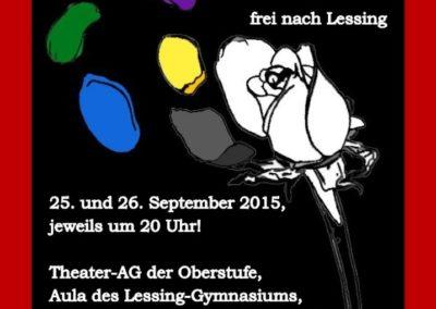 September 2015 Emilia Galotti (Regie Mareike Kuntz)