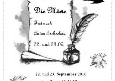 September 2016 - Die Möwe (Regie Mareike Kuntz)