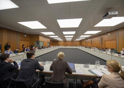 Pressekonferenz zum Thema Digitalisierung