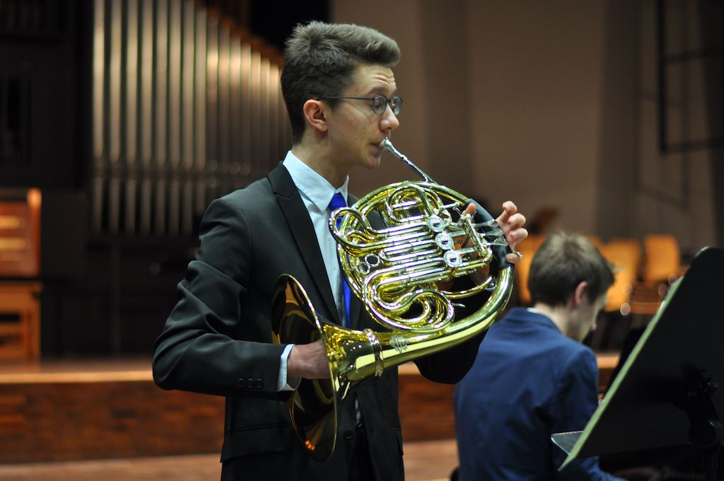 Sebastian L., Horn und Sebastian I., Klavier - Robert Schumann Adagio und Allegro