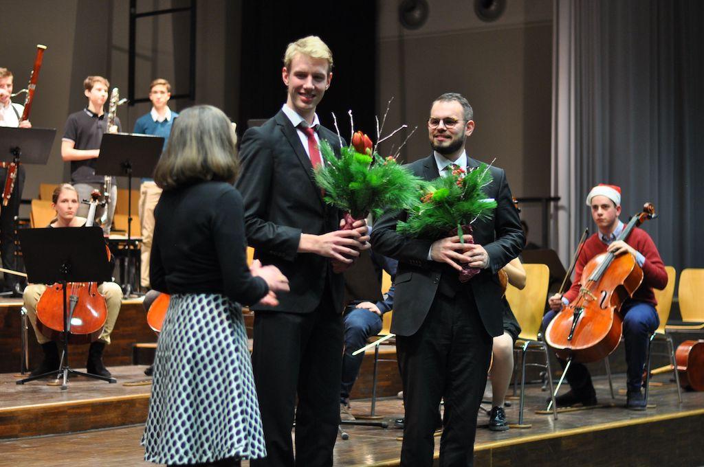 Ein herzliches Dankeschön an Herrn Schütte und Herrn Witzel