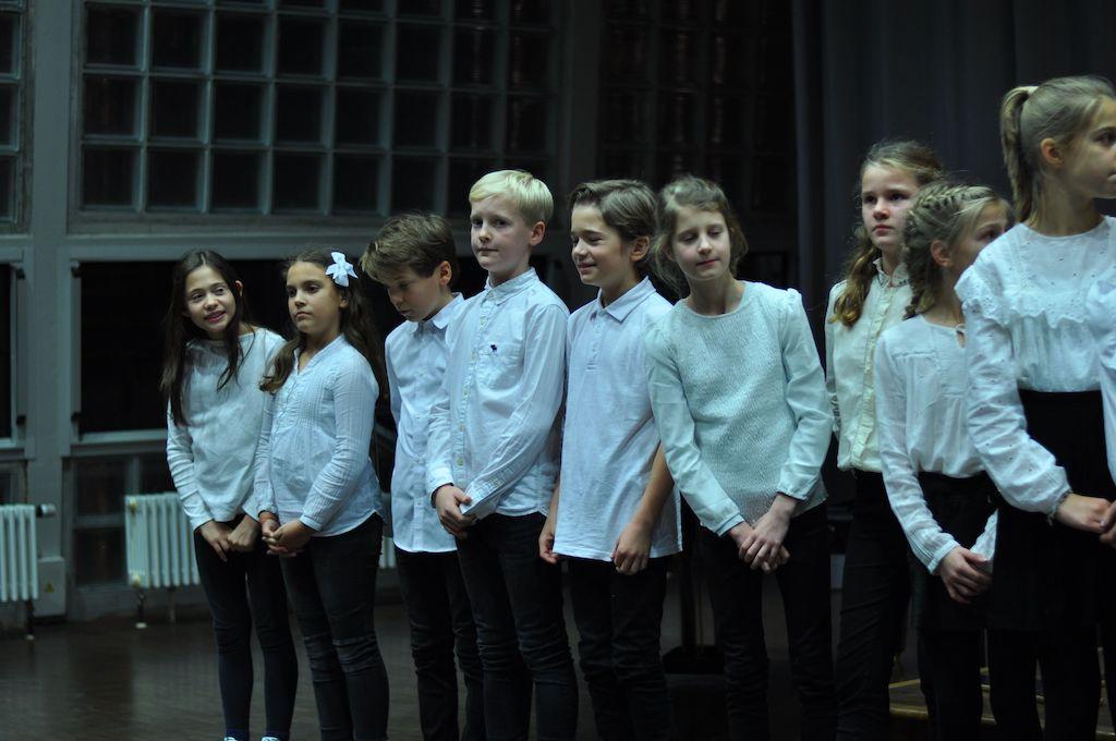 Chor der Jahrhangsstufe 5