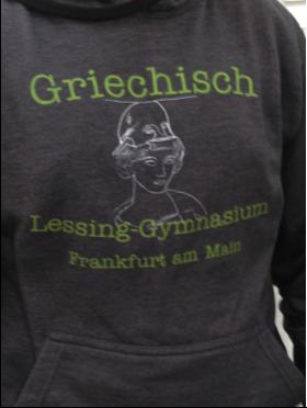 Der Griechisch-Hoodie der 8. Klassen trifft ...