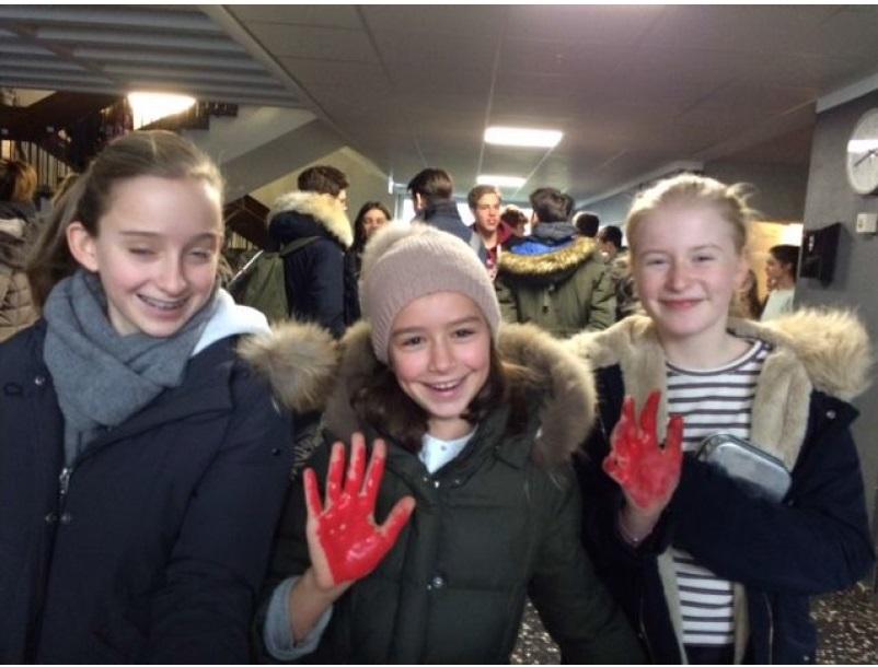 Red Hands Day 2019 - Teilnehmerinnen
