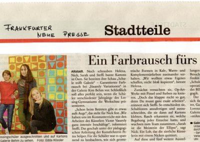 Artikel aus der Frankfurter Neue Presse