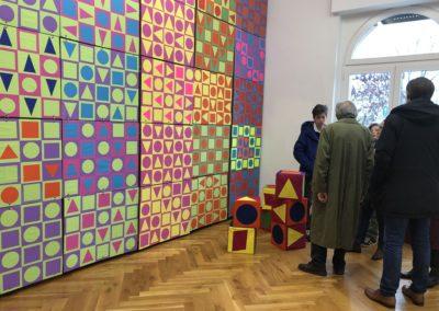 Schule trifft Galerie trifft Schule - Das Lessing-Gymnasium war zu Gast in der Galerie Kim Behm