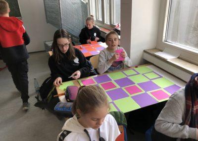 Schule trifft Galerie trifft Schule - alle waren fleißig dabei