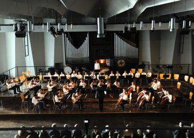 Das Kleine Orchester spielt Hornpipe von Händel