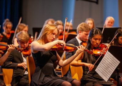Das Mittlere Orchester spielt Beethovens Jenaer Symphonie
