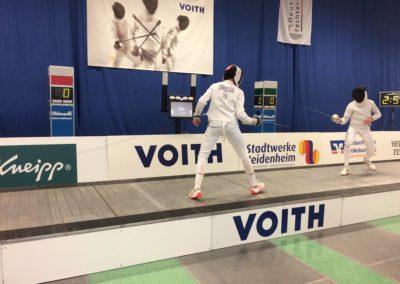 Die Deutsche Fechtmeisterschaften 2019 in Heidenheim