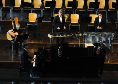 Die Kammermusik-Combo spielt die Moldau von Smetana