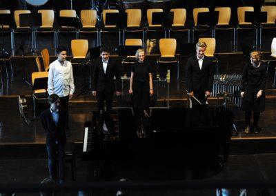 Die Kammermusik-Combo unter der Leitung von Frau Bethge
