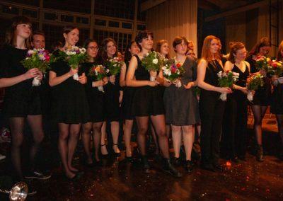 Die musikalisch verabschiedeten Abiturienten