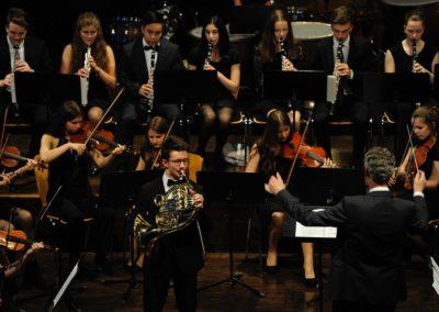 Sebastian Lampart spielt Strauss Honrkonzert Nr 1