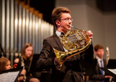 Sebastian Lampert spielt Hornkonzert von R. Strauss