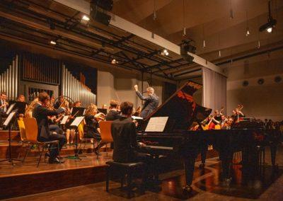 Uraufführung des Konzertstücks für 2 Klaviere von Sebastian Ickstadt