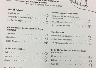 """Die 17. Frankfurter Kinder-Uni beschäftigte sich u.a. mit der Frage: """"Gibt es Leben auf dem Meeresboden?"""""""