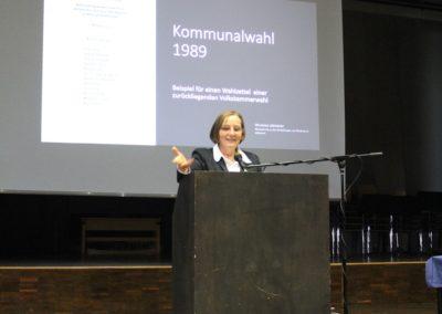 Hildigund Neubert über die Kommunalwahl im Mai 1989
