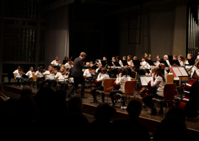 01 Kleines Orchester - Abide with me