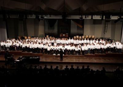 05 Chor der Klassen 6-7 - Ceciderunt in profundum