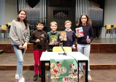 Die Preisträger des Vorlesewettbewerbes am Lessing-Gymnasium 2019