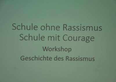Schule ohne Rassismus - Schule mit Courage44