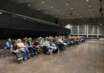Blick in die Aula des Lessing-Gymnasiums