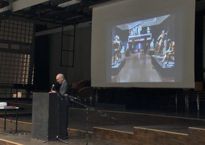 Begrüßung durch den Schulleiter Herrn Bernhard Mieles
