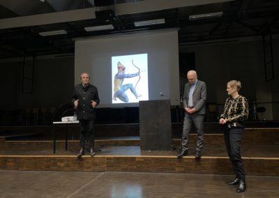 Abschließende Worte von Herrn Prof. Brinkmann nach einem sehr informativen Vortrag